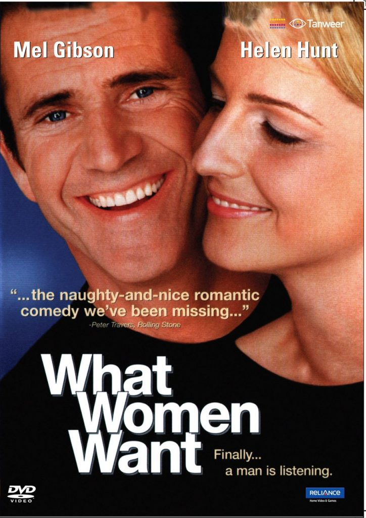 What Women Want - DVD Inlay